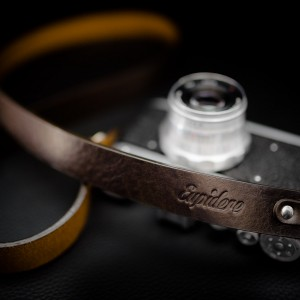 Skórzany pasek do aparatu, prezent dla fotorafa, pasek fotograficzny, Eupidere BLDBR (1)