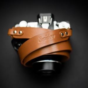 Skórzany pasek do aparatu, prezent dla fotorafa, pasek fotograficzny, Eupidere BLDCG (1)