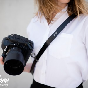 Skórzany pasek do aparatu, prezent dla fotorafa, pasek fotograficzny, Eupidere SLDBL (6)