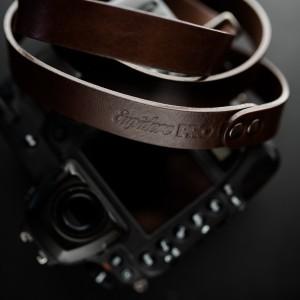 Skórzany pasek do aparatu, prezent dla fotorafa, pasek fotograficzny, Eupidere SLRBR (2)