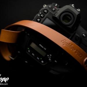 Skórzany pasek do aparatu, prezent dla fotorafa, pasek fotograficzny, Eupidere SLRCG (1)