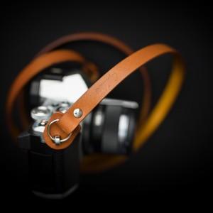 Skórzany pasek do aparatu, prezent dla fotorafa, pasek fotograficzny, Eupidere THNCG (2)