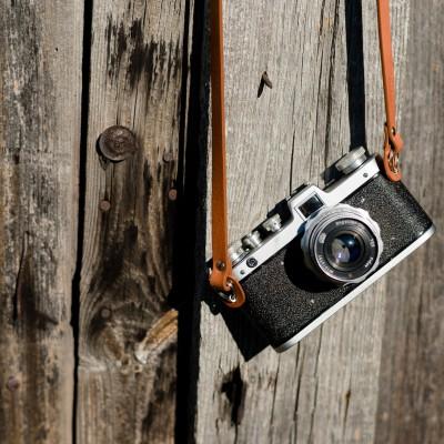 Skórzany pasek do aparatu, prezent dla fotografa, 9