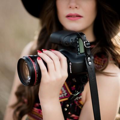 Skórzany pasek do aparatu, prezent dla fotografa, 6