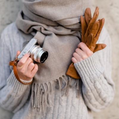 Skórzany pasek do aparatu, prezent dla fotografa, 10