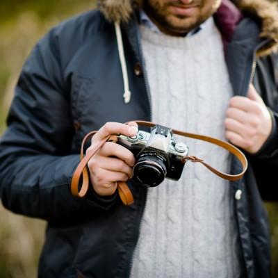 Skórzany pasek do aparatu, prezent dla fotografa, 11