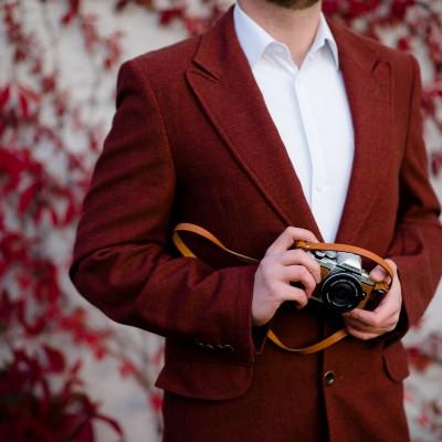 Skórzany pasek do aparatu, prezent dla fotografa, 13