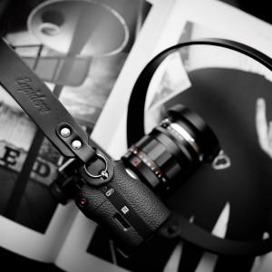 Skórzany pasek do aparatu, prezent dla fotorafa, pasek fotograficzny, Eupidere BLDBL (3)