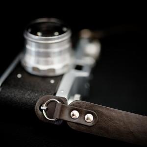 Skórzany pasek do aparatu, prezent dla fotorafa, pasek fotograficzny, Eupidere BLDBR (2)