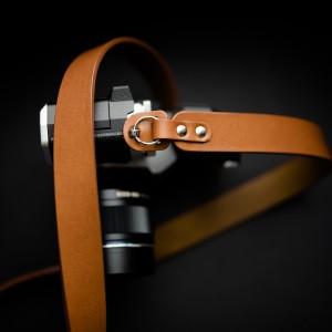 Skórzany pasek do aparatu, prezent dla fotorafa, pasek fotograficzny, Eupidere BLDCG (2)