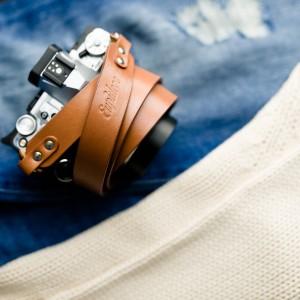 Skórzany pasek do aparatu, prezent dla fotorafa, pasek fotograficzny, Eupidere BLDCG (5)