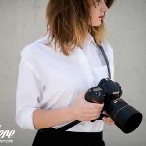 Skórzany pasek do aparatu, prezent dla fotorafa, pasek fotograficzny, Eupidere SLDBL (7)
