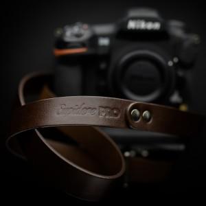 Skórzany pasek do aparatu, prezent dla fotorafa, pasek fotograficzny, Eupidere SLDBR (1)