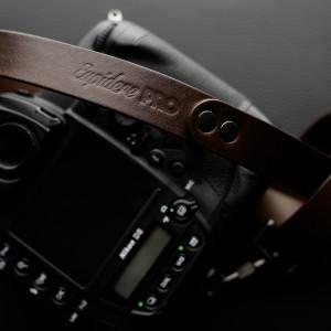 Skórzany pasek do aparatu, prezent dla fotorafa, pasek fotograficzny, Eupidere SLDBR (3)
