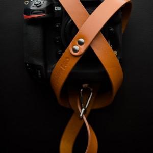 Skórzany pasek do aparatu, prezent dla fotorafa, pasek fotograficzny, Eupidere SLDCG (4)