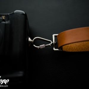 Skórzany pasek do aparatu, prezent dla fotorafa, pasek fotograficzny, Eupidere SLRCG (3)