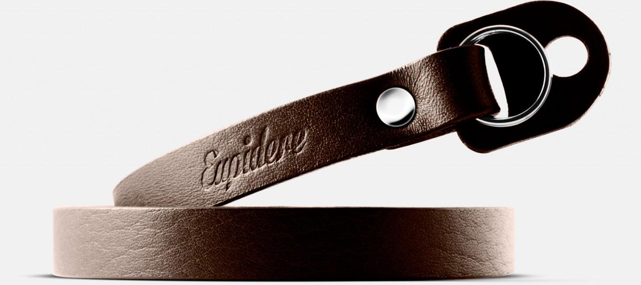 Skórzany pasek do aparatu, prezent dla fotorafa, pasek fotograficzny, Eupidere THNBR
