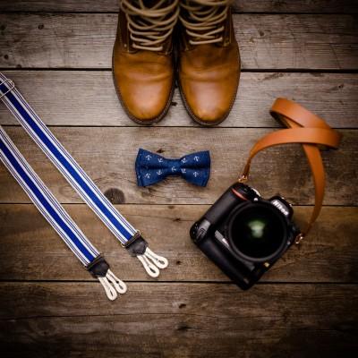 Skórzany pasek do aparatu, prezent dla fotografa, 5