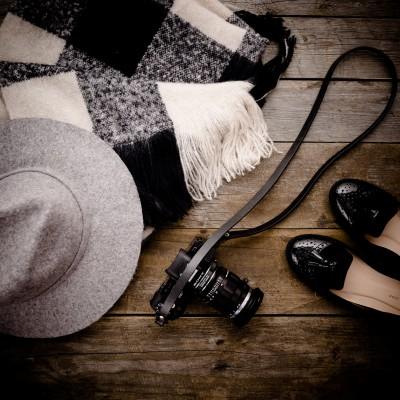 Skórzany pasek do aparatu, prezent dla fotografa, 21